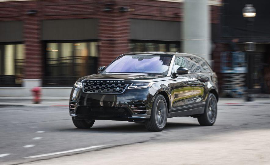 2018 Jaguar F-Pace 30t and 2018 Land Rover Range Rover Velar P250 - Slide 17