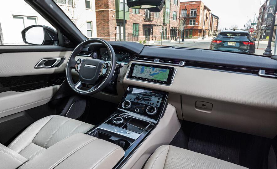 2018 Jaguar F-Pace 30t and 2018 Land Rover Range Rover Velar P250 - Slide 24