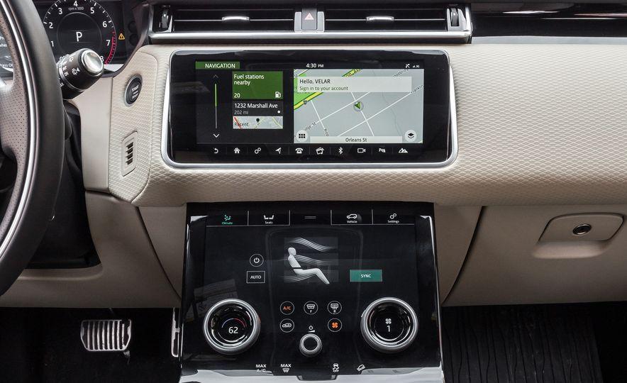 2018 Jaguar F-Pace 30t and 2018 Land Rover Range Rover Velar P250 - Slide 26