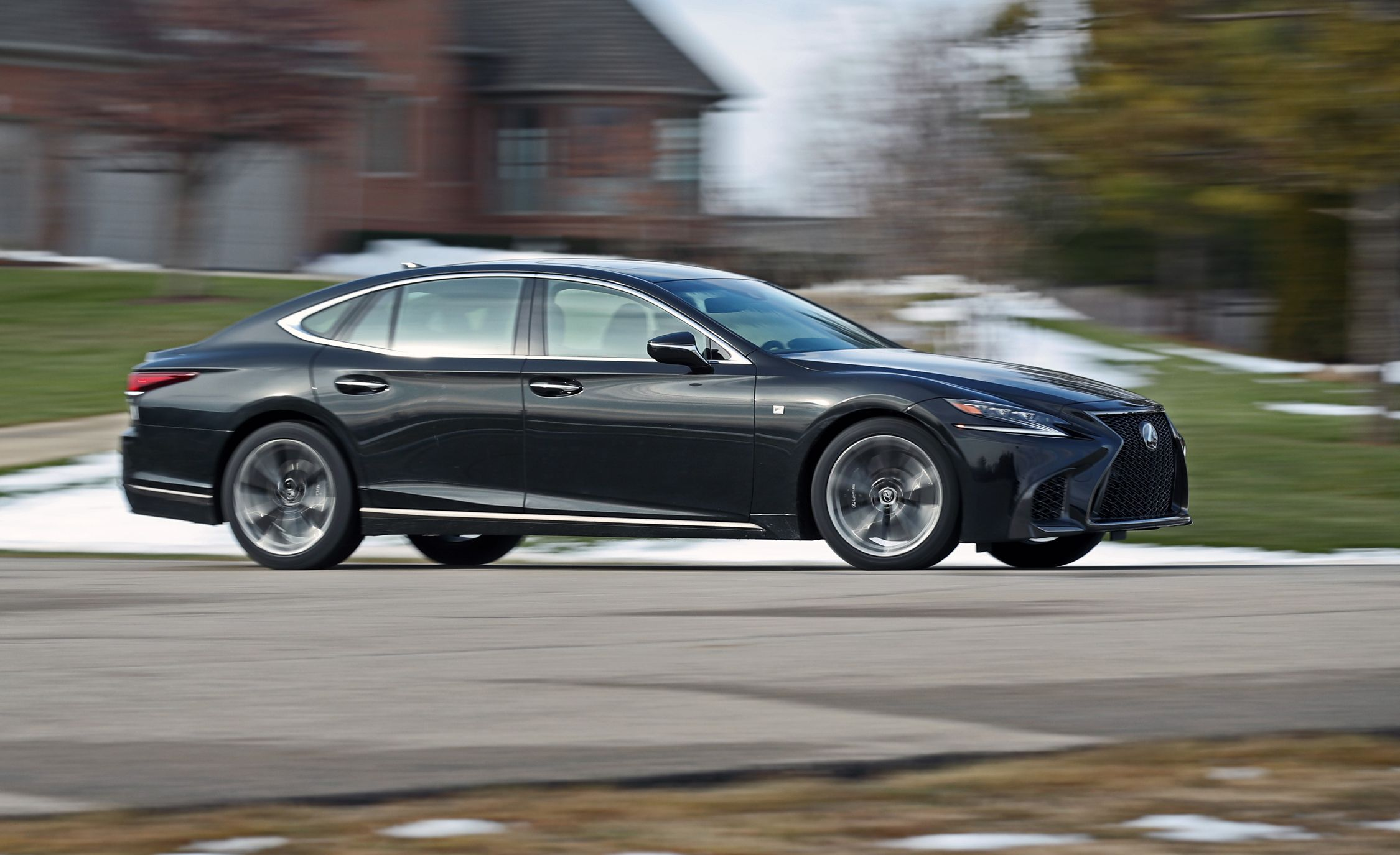 2018 Lexus Ls500 F Sport Awd Test Moderately Ertive Review Car And Driver