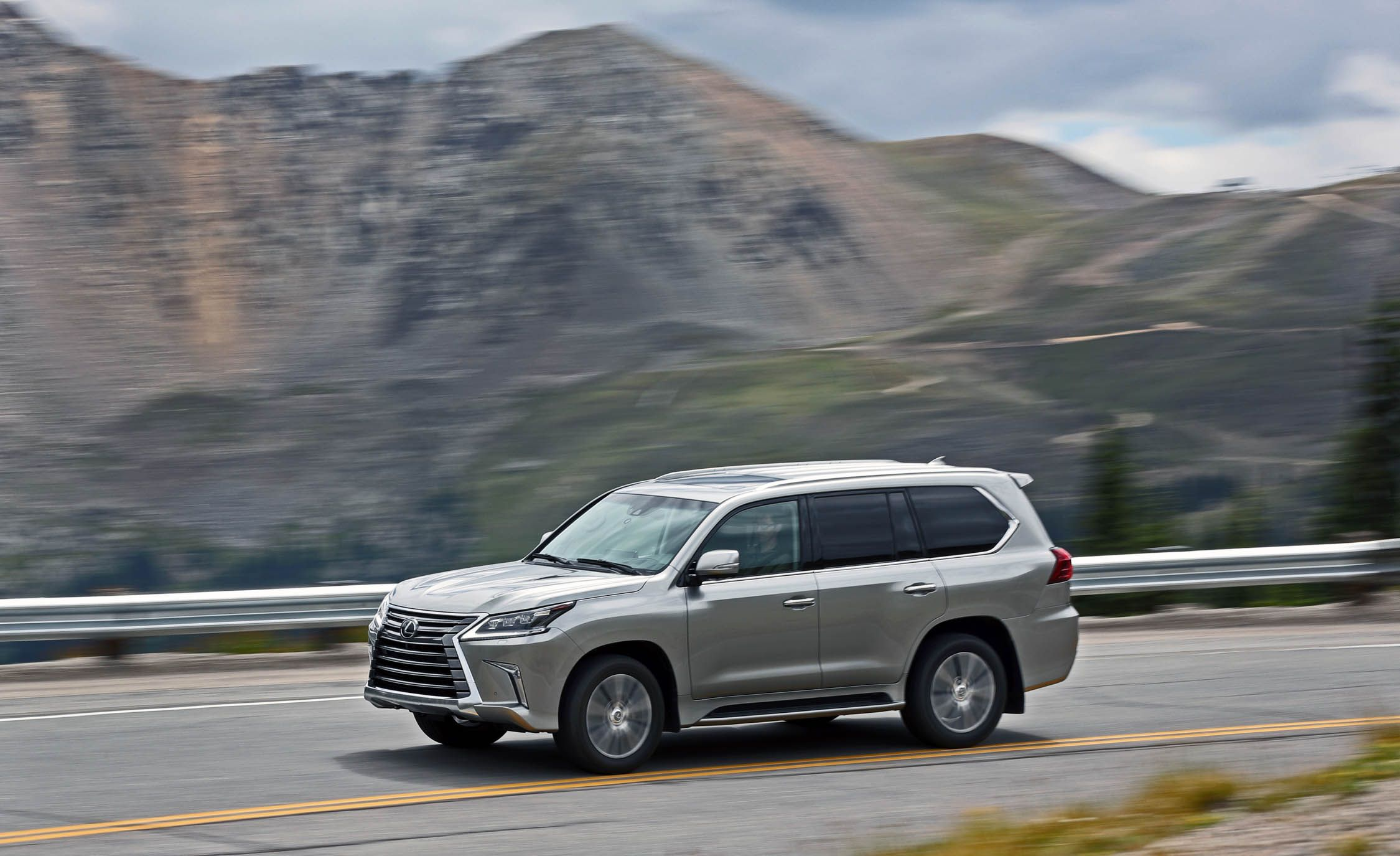 2019 Lexus Lx Reviews Price Photos And Specs Car Driver
