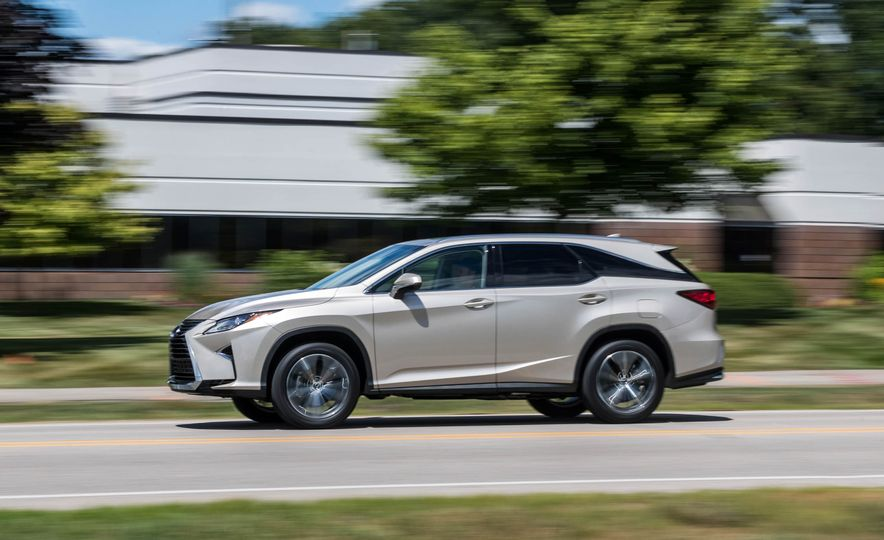 2018 Lexus RX 350L - Slide 4
