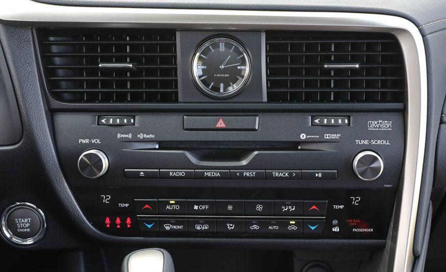 2018 Lexus RX 350L - Slide 79