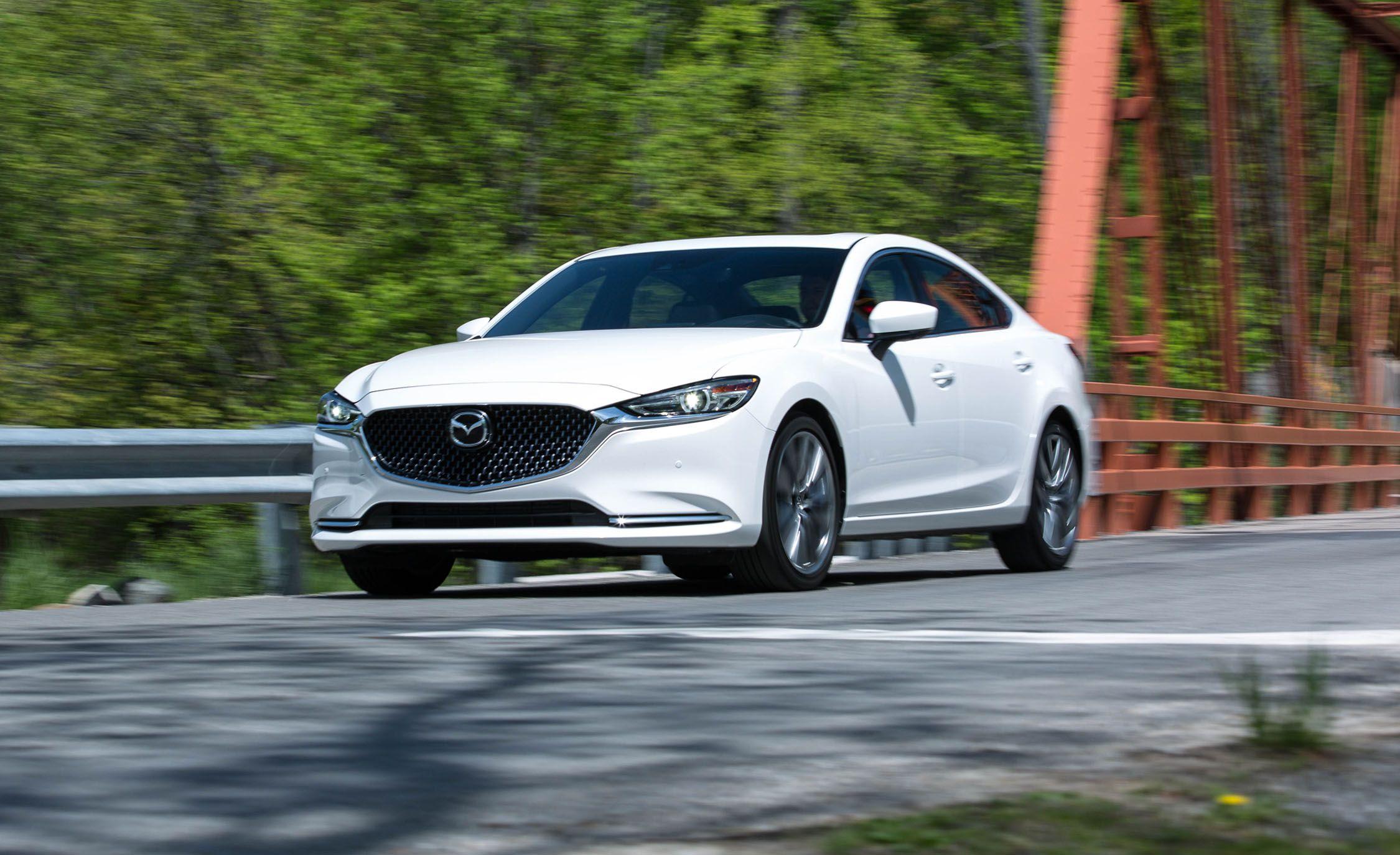 Mazda >> 2018 Mazda 6 In Depth Model Review Car And Driver