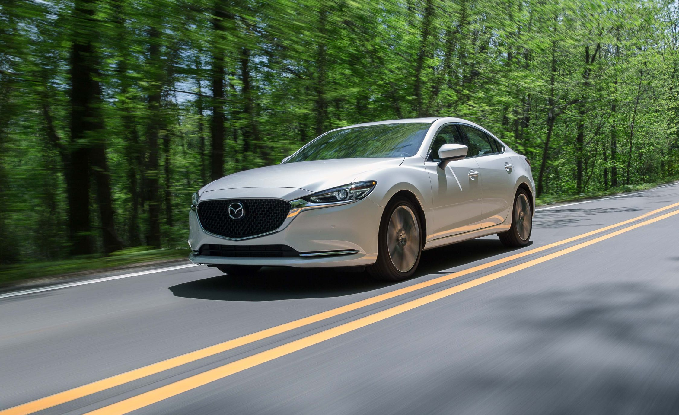 Mazda 3 2017 Custom >> 2018 Mazda 6 Turbo Tested: The Silence of the Cams | Review | Car and Driver
