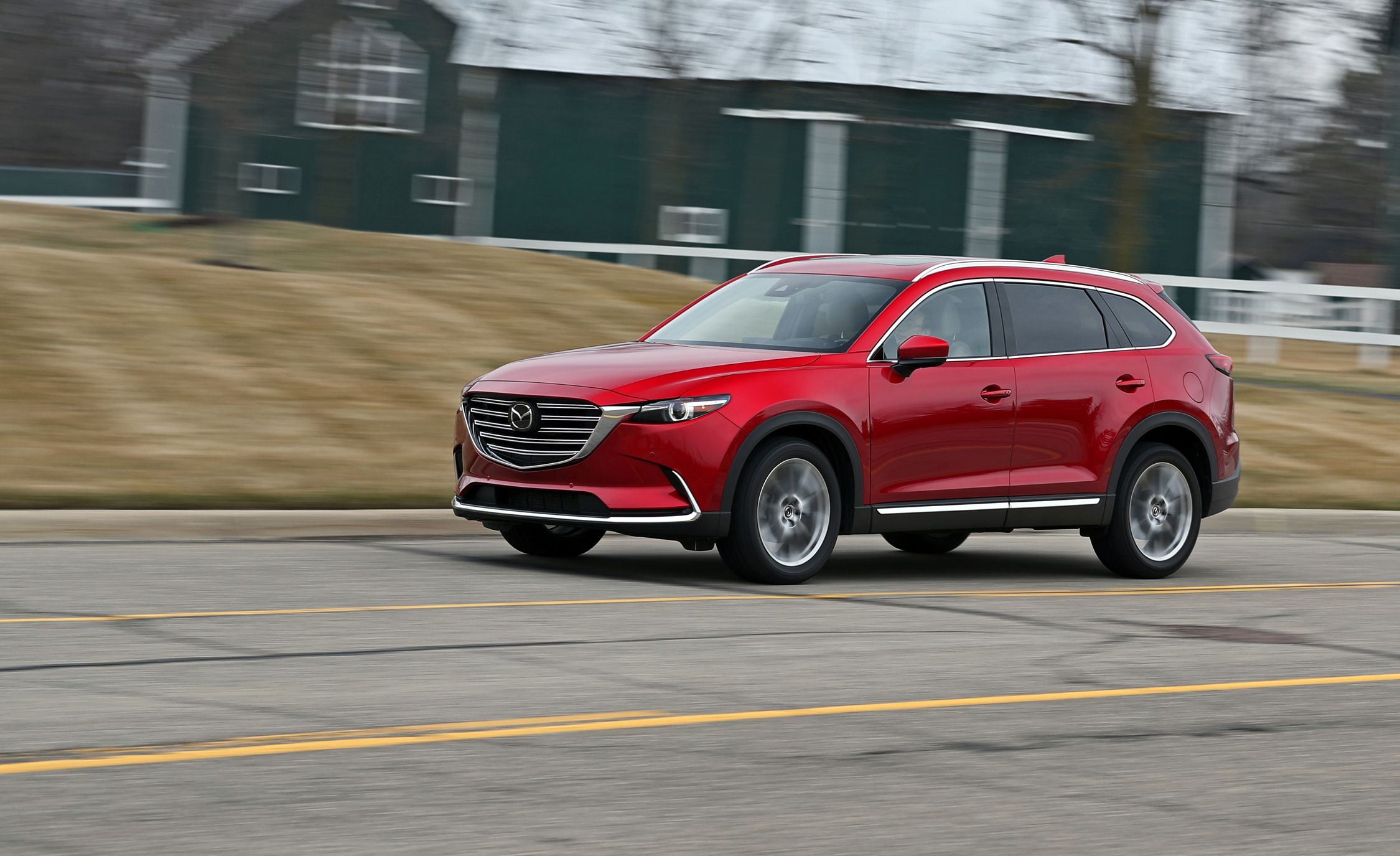 2018 mazda cx 9 awd test updated so we d like it more review car and driver. Black Bedroom Furniture Sets. Home Design Ideas