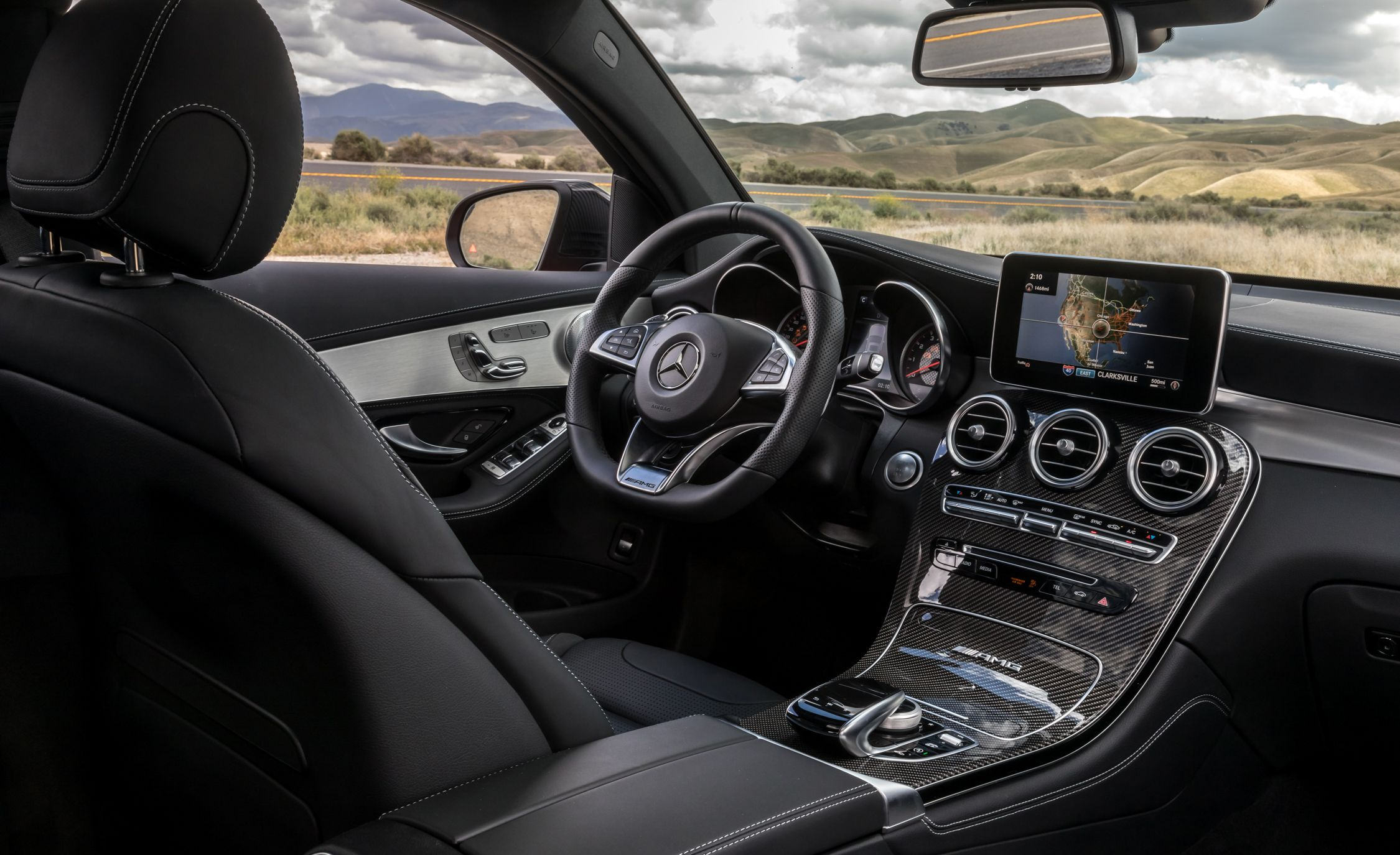 2018 Mercedes Amg Glc43 Coupe Glc63 Coupe Reviews Mercedes Amg