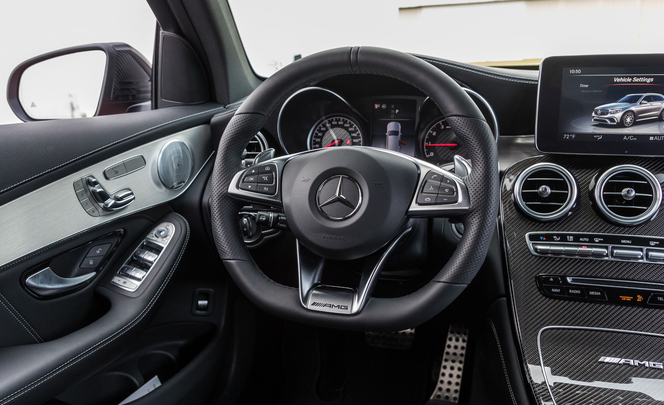 Mercedes Amg Glc43 4matic Glc63 Reviews Price Photos And Specs Car Driver