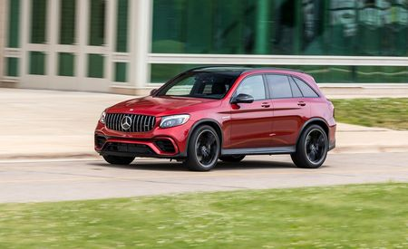 Mercedes-AMG's GLC63 Is Loud and Proud