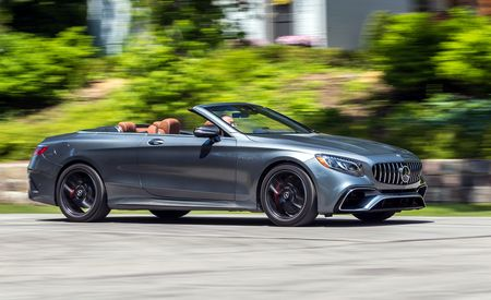 2018 Mercedes-AMG S63 Cabriolet - Instrumented Test - Gallery