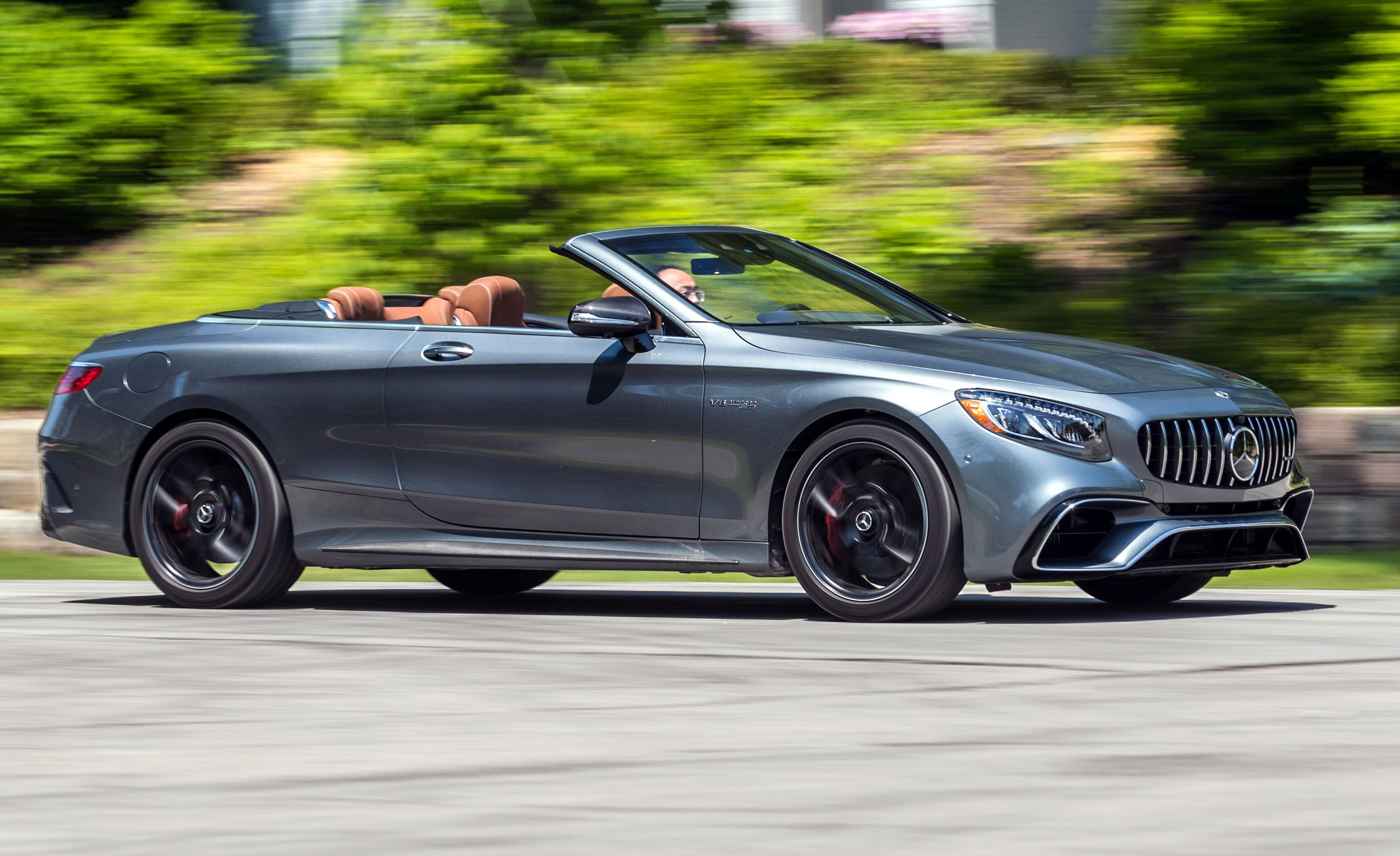 2018 Mercedes-AMG S63 Cabriolet Test: Power and Glory ...