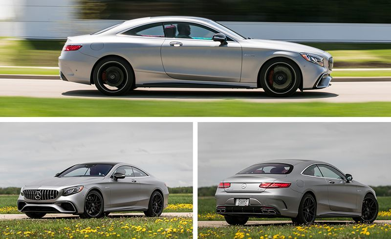 2018 Mercedes Amg S63 Coupe Test Grand Touring Review Car And