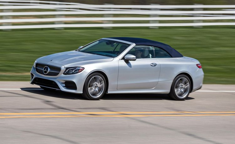 2018 Mercedes-Benz E-class Coupe and Cabriolet