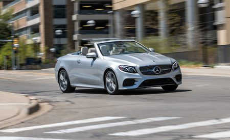 2018 Mercedes-Benz E400 4Matic Cabriolet