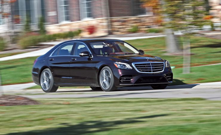 The 2018 Mercedes-Benz S560 4Matic Sedan Marks the Return of a Classic Benz Badge