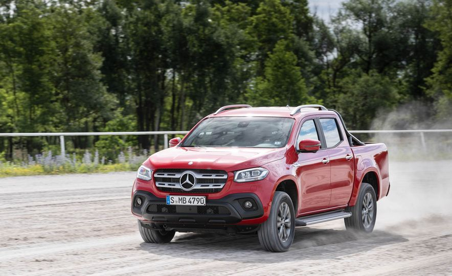 2018 Mercedes-Benz X350d 4Matic  - Slide 4