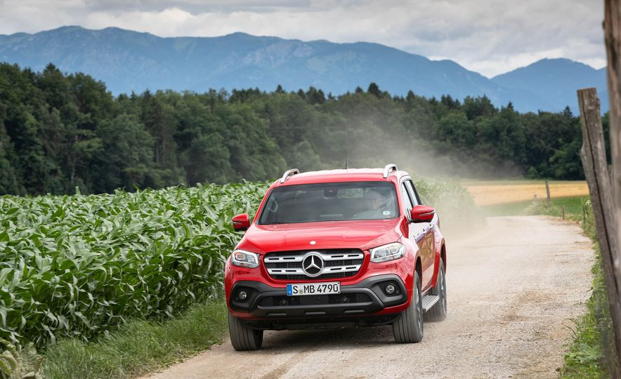 2018 Mercedes-Benz X350d 4Matic  - Slide 8
