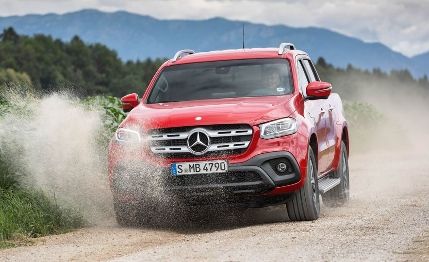 2018 Mercedes-Benz X350d 4Matic  - Slide 9