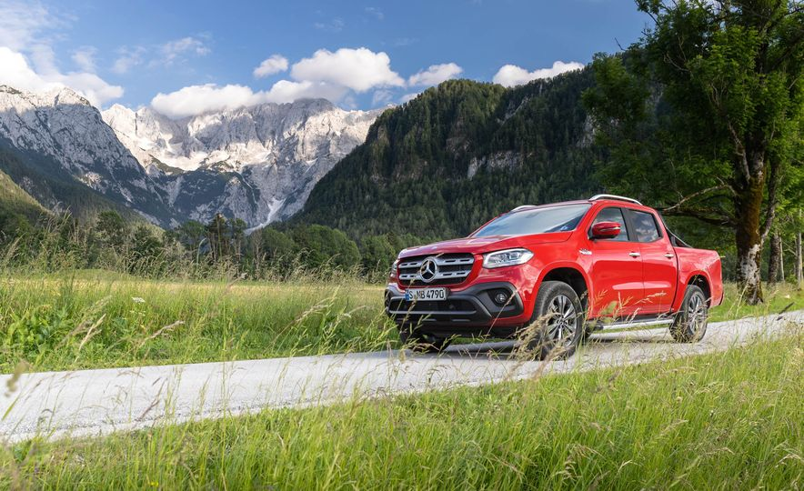 2018 Mercedes-Benz X350d 4Matic  - Slide 15