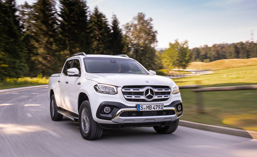2018 Mercedes-Benz X350d 4Matic  - Slide 26