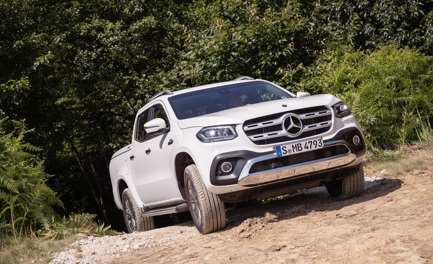 2018 Mercedes-Benz X350d 4Matic  - Slide 28