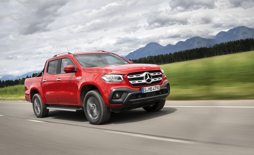 2018 Mercedes-Benz X350d 4Matic  - Slide 1