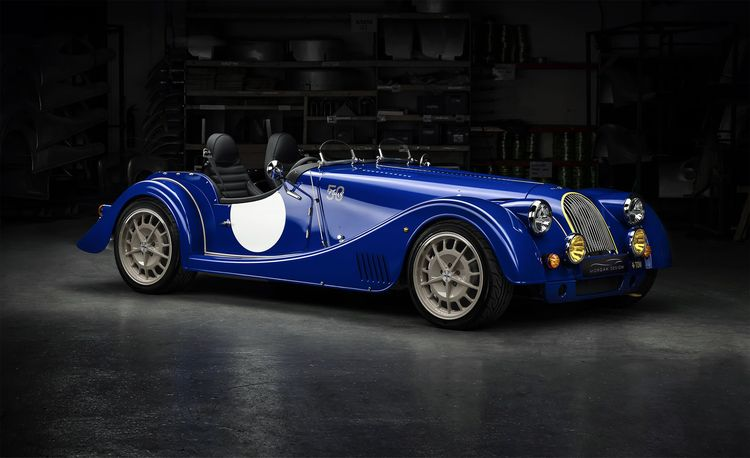 The Last Morgan Plus 8 Celebrates the Lunacy of Dropping a V-8 into a Featherweight Sports Car