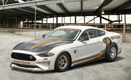 Eight-Second 2018 Mustang Cobra Jet Debuts on Woodward, Must Be Trailered There - Gallery