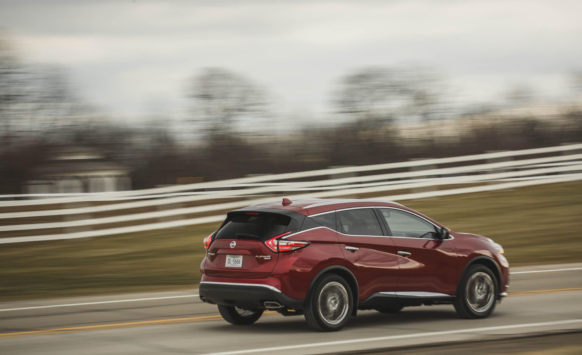 Nissan Murano Reviews Price Photos And Specs Car Driver