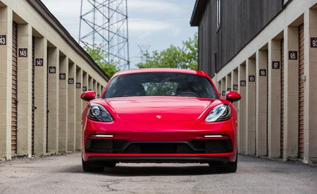 Detailed Photos of the 2018 Porsche 718 Boxster GTS and Cayman GTS Variants