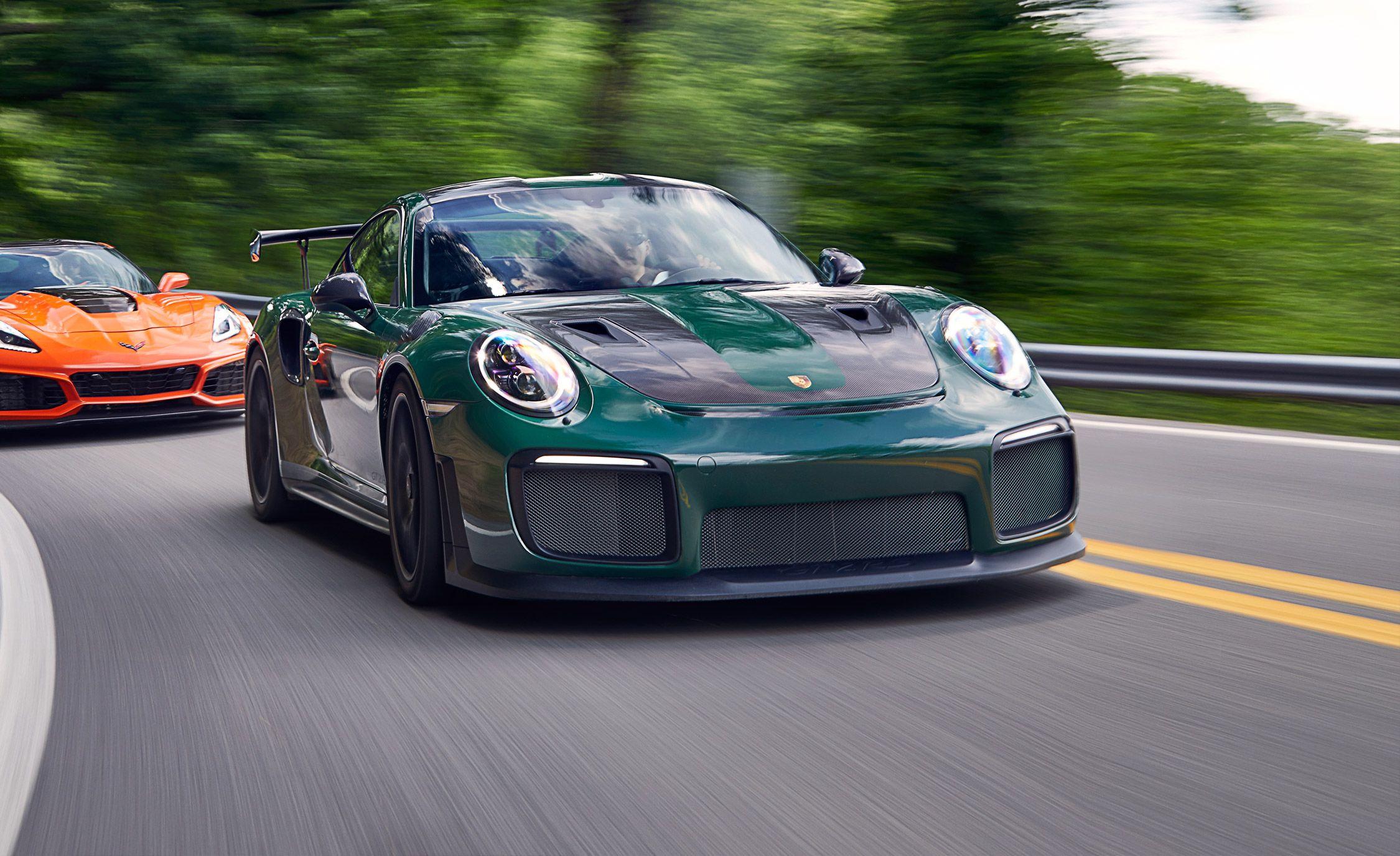 2018 Porsche 911 GT2 RS   Comparison Test   Car and Driver