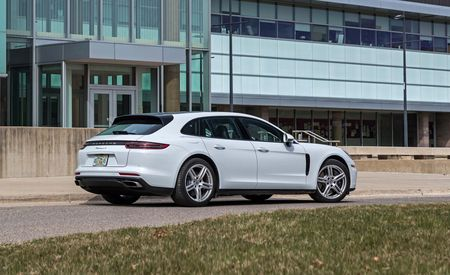 In-Depth Photos of the 2018 Porsche Panamera 4 and 4S Sport Turismo