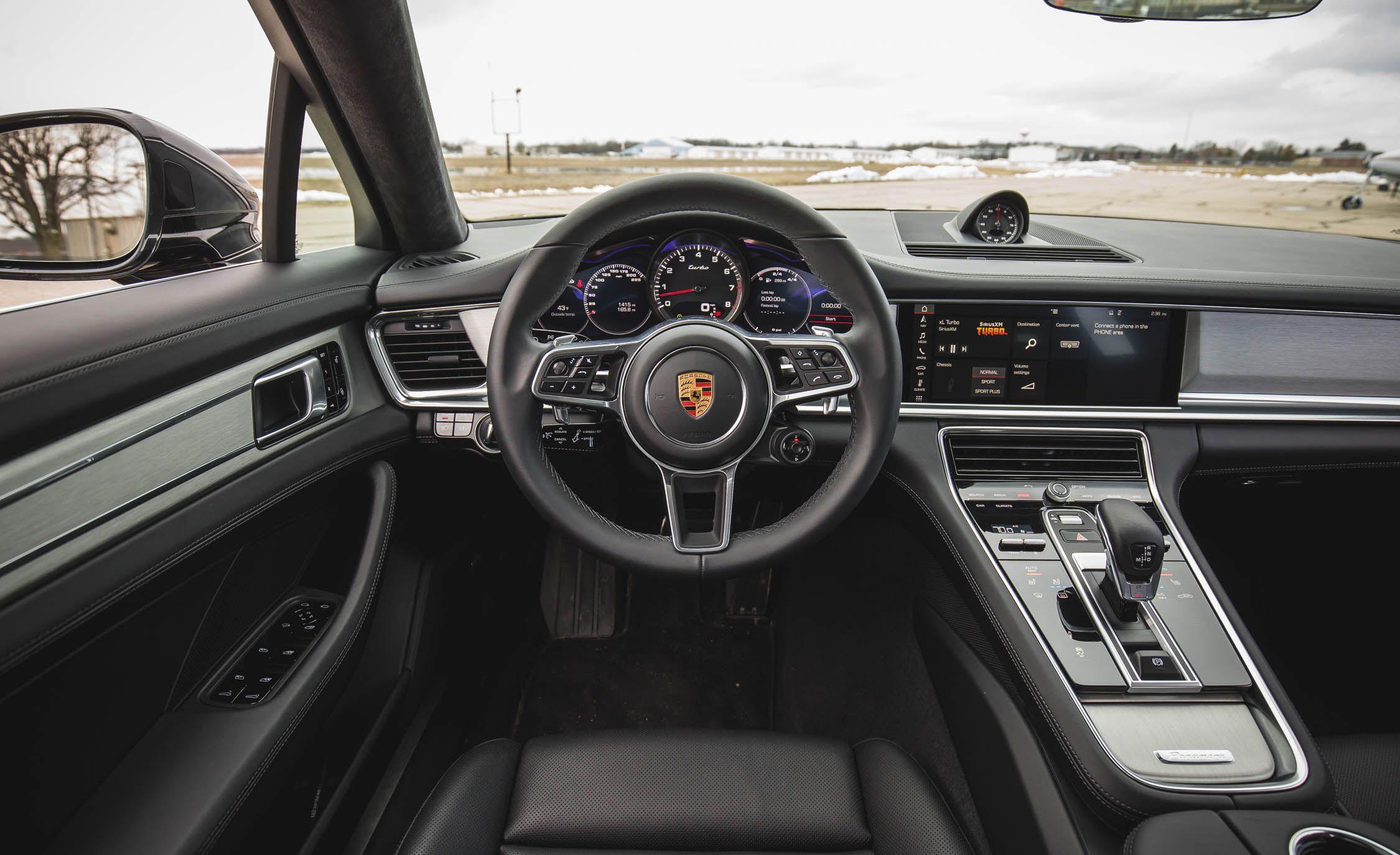 2019 Porsche Panamera Sport Turismo Reviews Price Photos And Specs Car Driver
