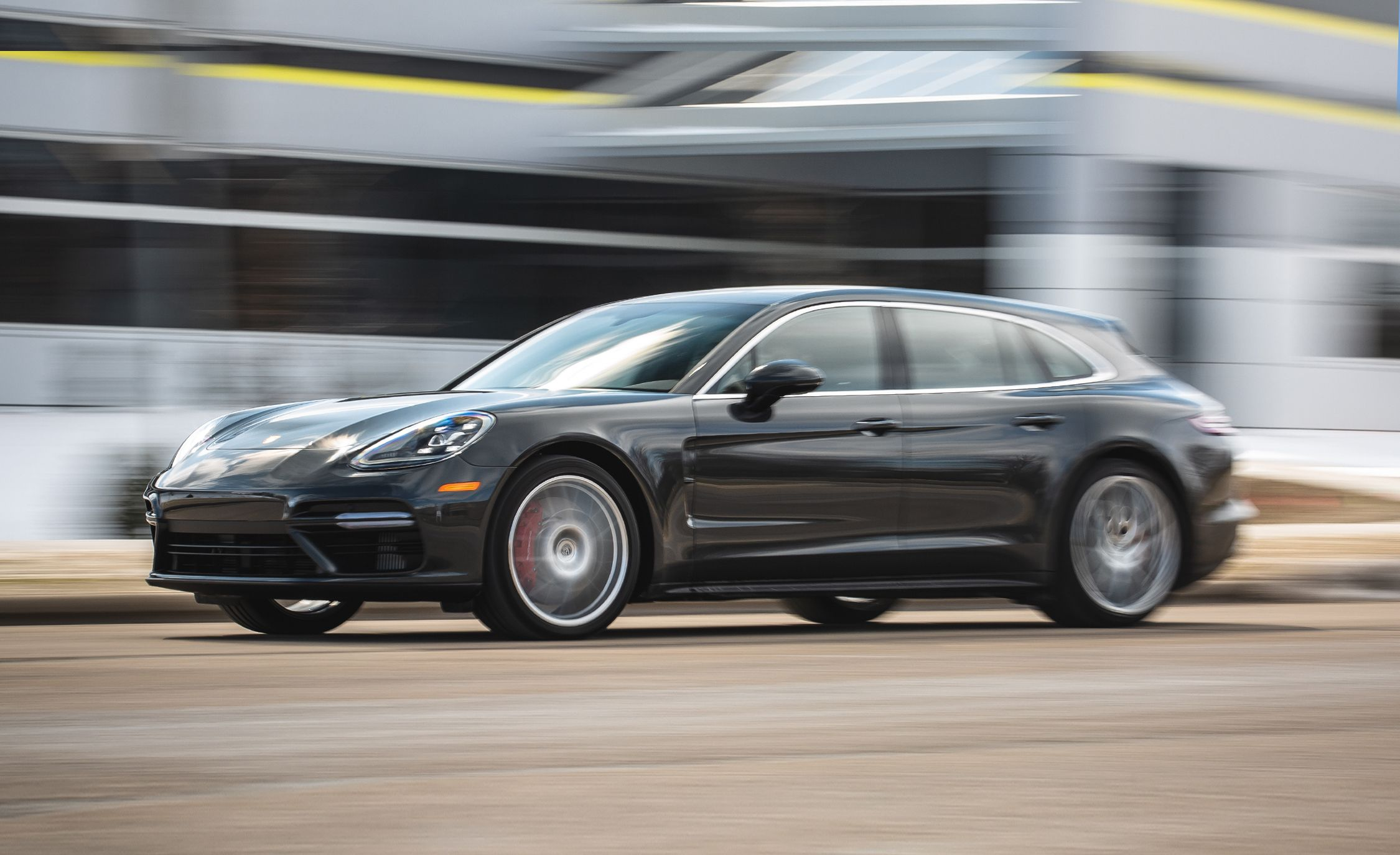 2019 Porsche Panamera Sport Turismo Reviews Price Photos And Specs Car Driver