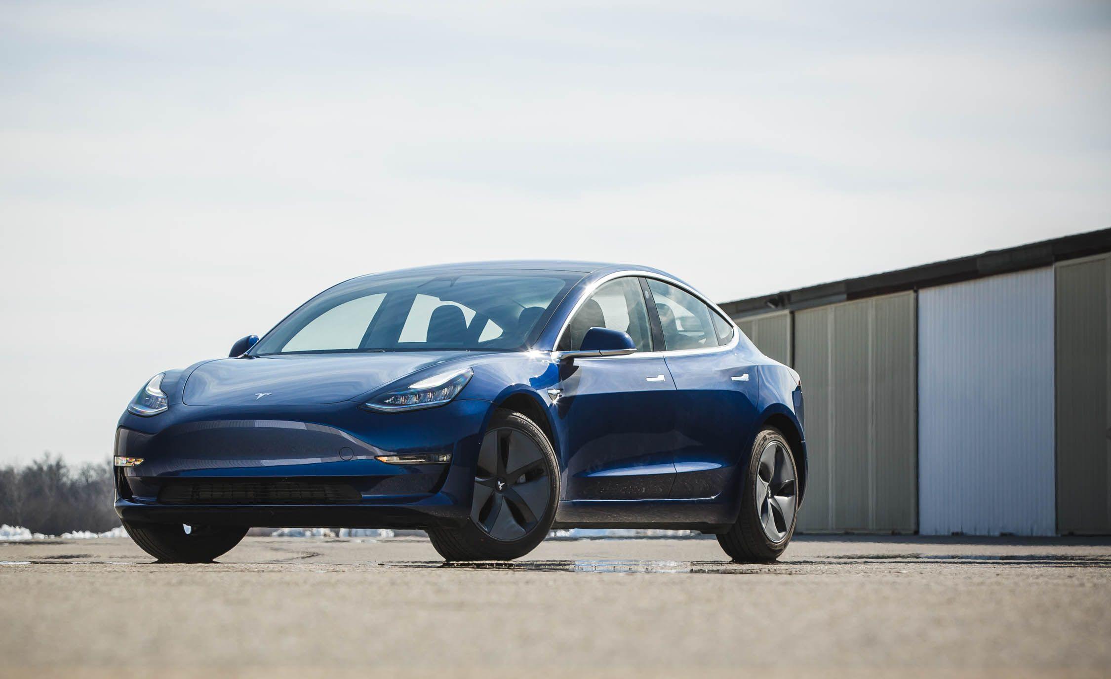 Tesla 3 design