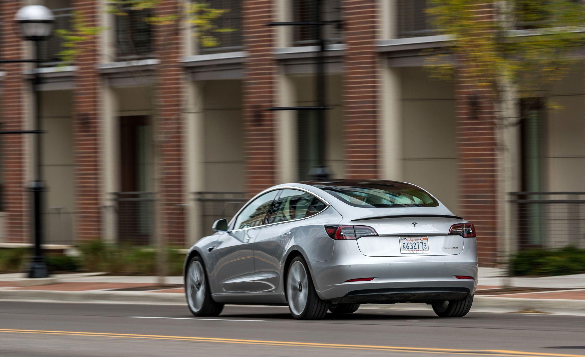 2019 Tesla Model 3 Reviews Price Photos And Specs Car Driver