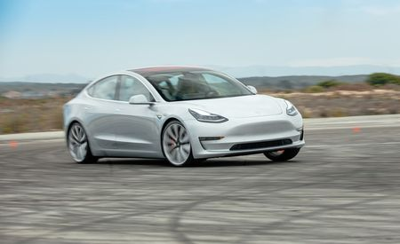 The Tesla Model 3 Performance Skips Ludicrous Acceleration for Ridiculous Cornering