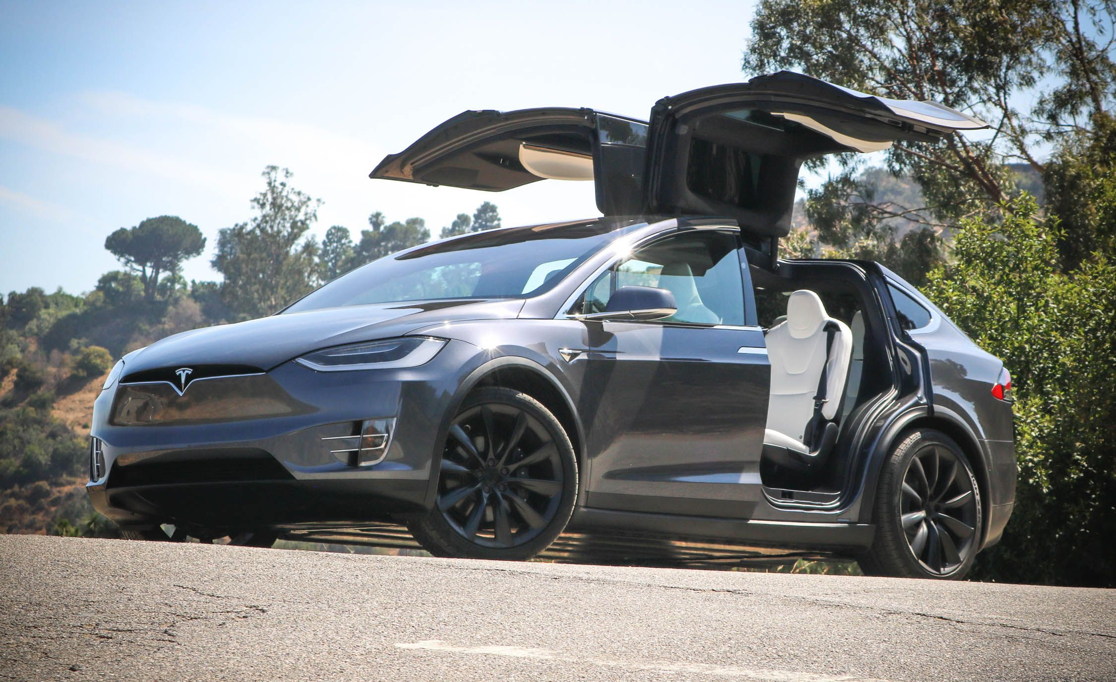 2019 Tesla Model X Reviews Price Photos And Specs Car Driver