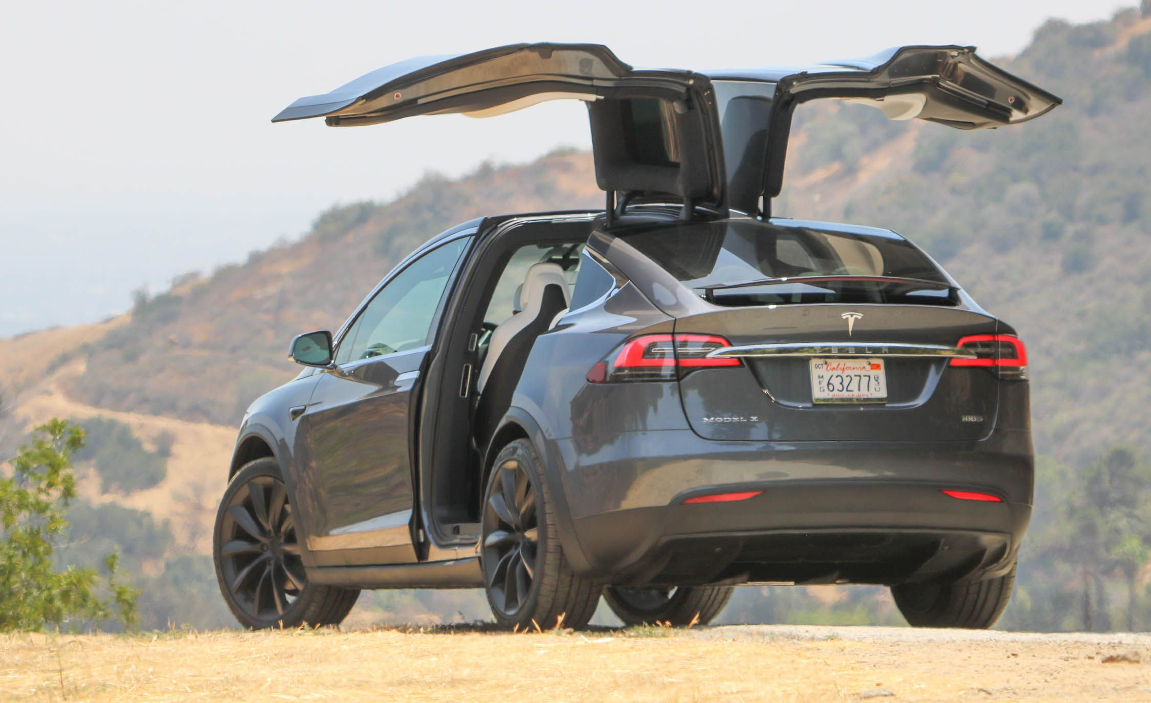 Tesla Model X Reviews Price Photos And Specs Car Driver