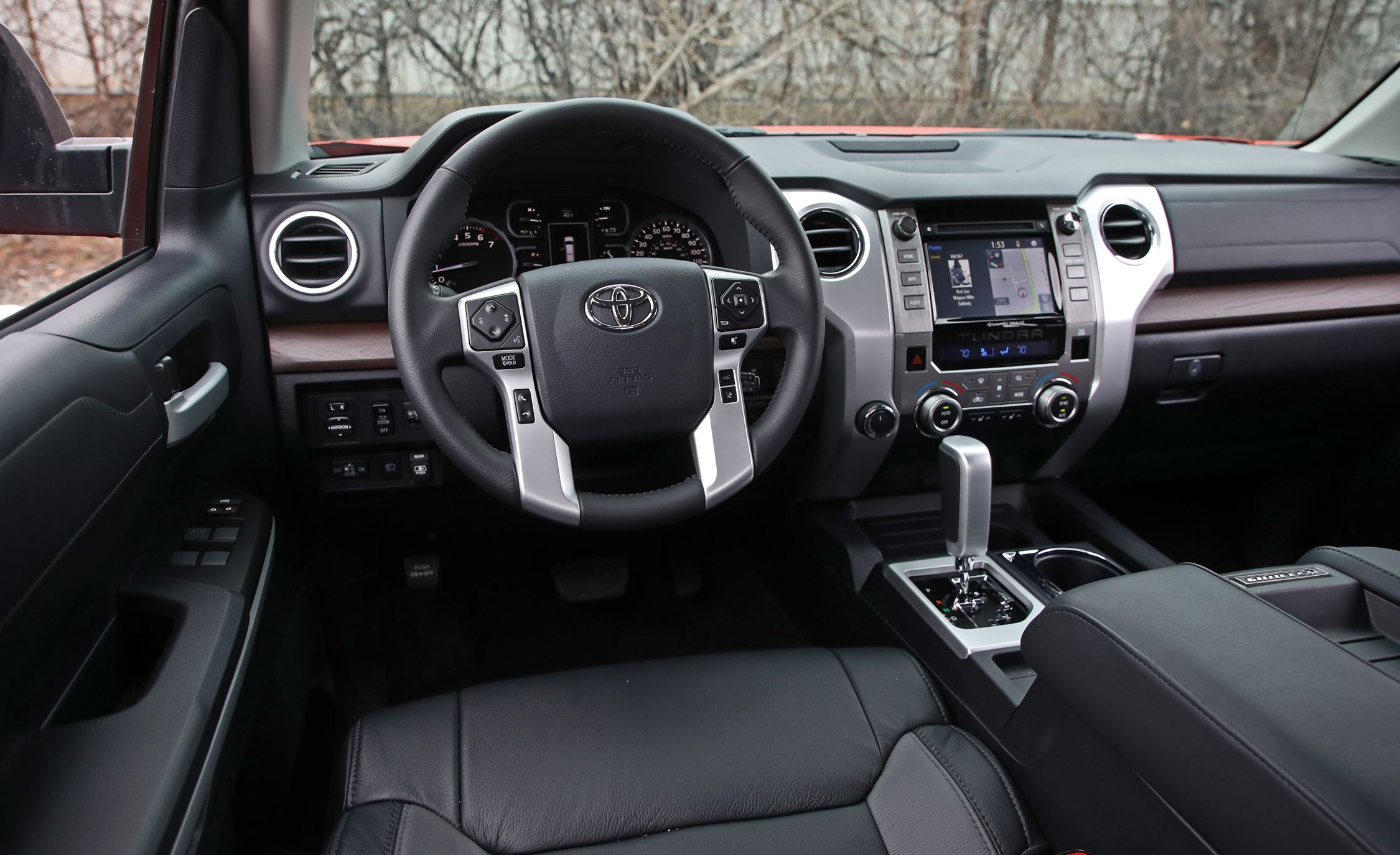 2019 Toyota Tundra Reviews Price Photos And Specs Steering Wheel Car Driver