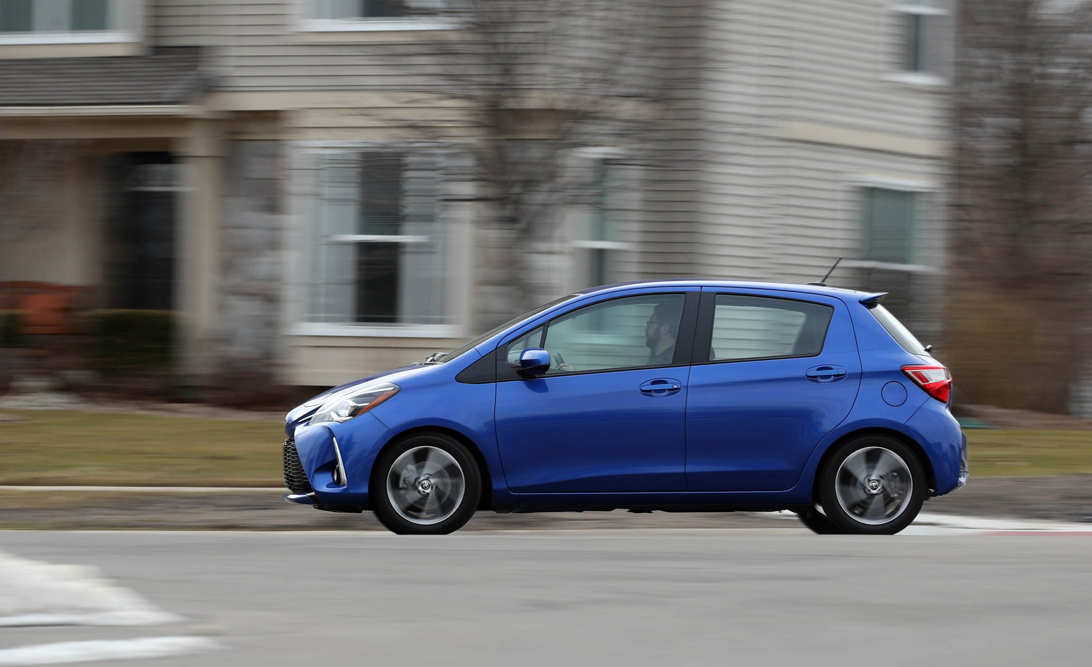 Toyota Yaris - a budget car with a new design