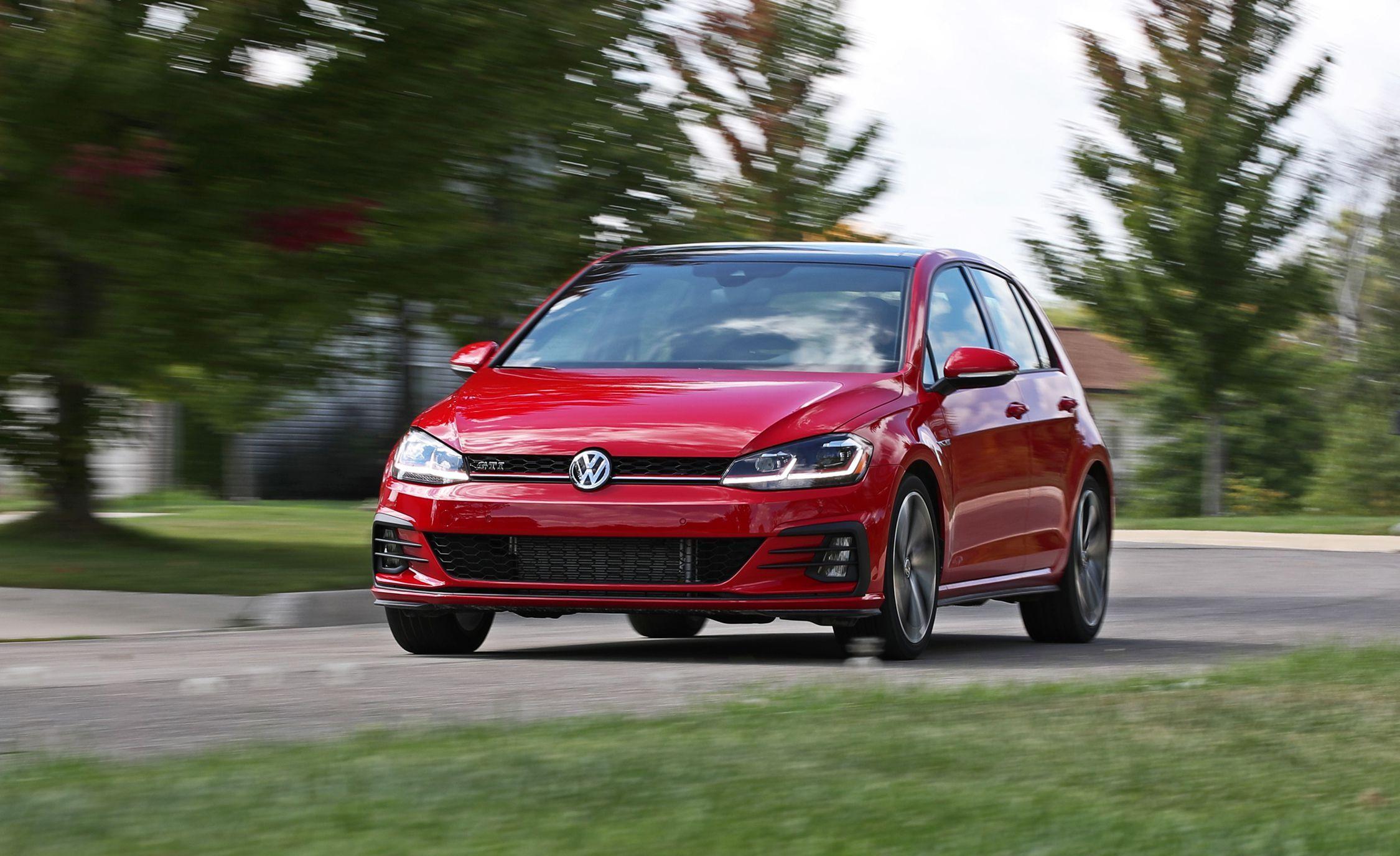 2019 Volkswagen Golf Gti Reviews Volkswagen Golf Gti Price Photos