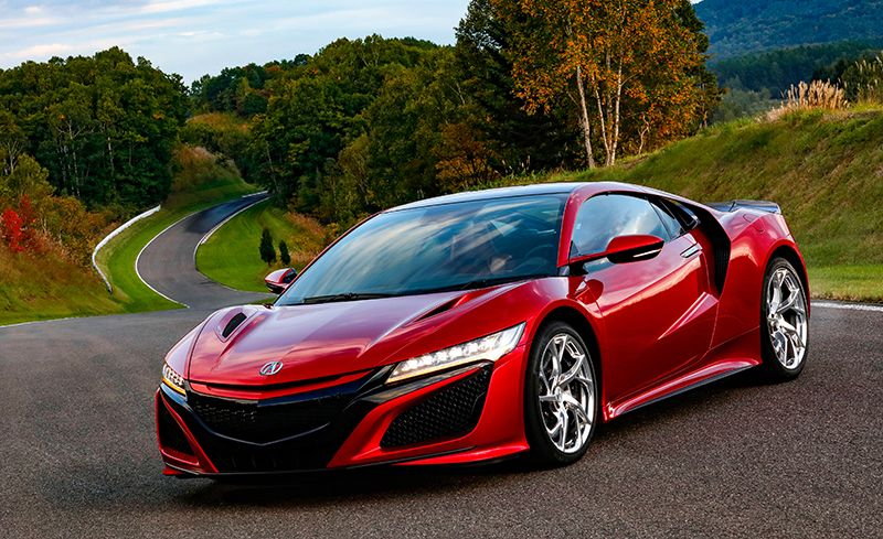 2019 Acura Nsx Reviews Price Photos And Specs Car Driver