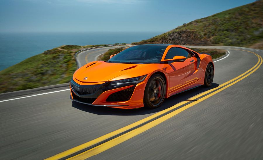 2019 Acura NSX Gets a Nose Job, a Better Chassis, and More Orange