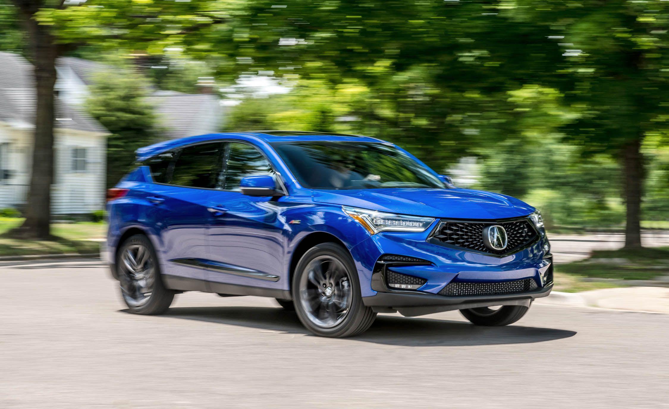 Acura RDX Reviews Acura RDX Price Photos And Specs Car And Driver - Acura rdx 2018 price