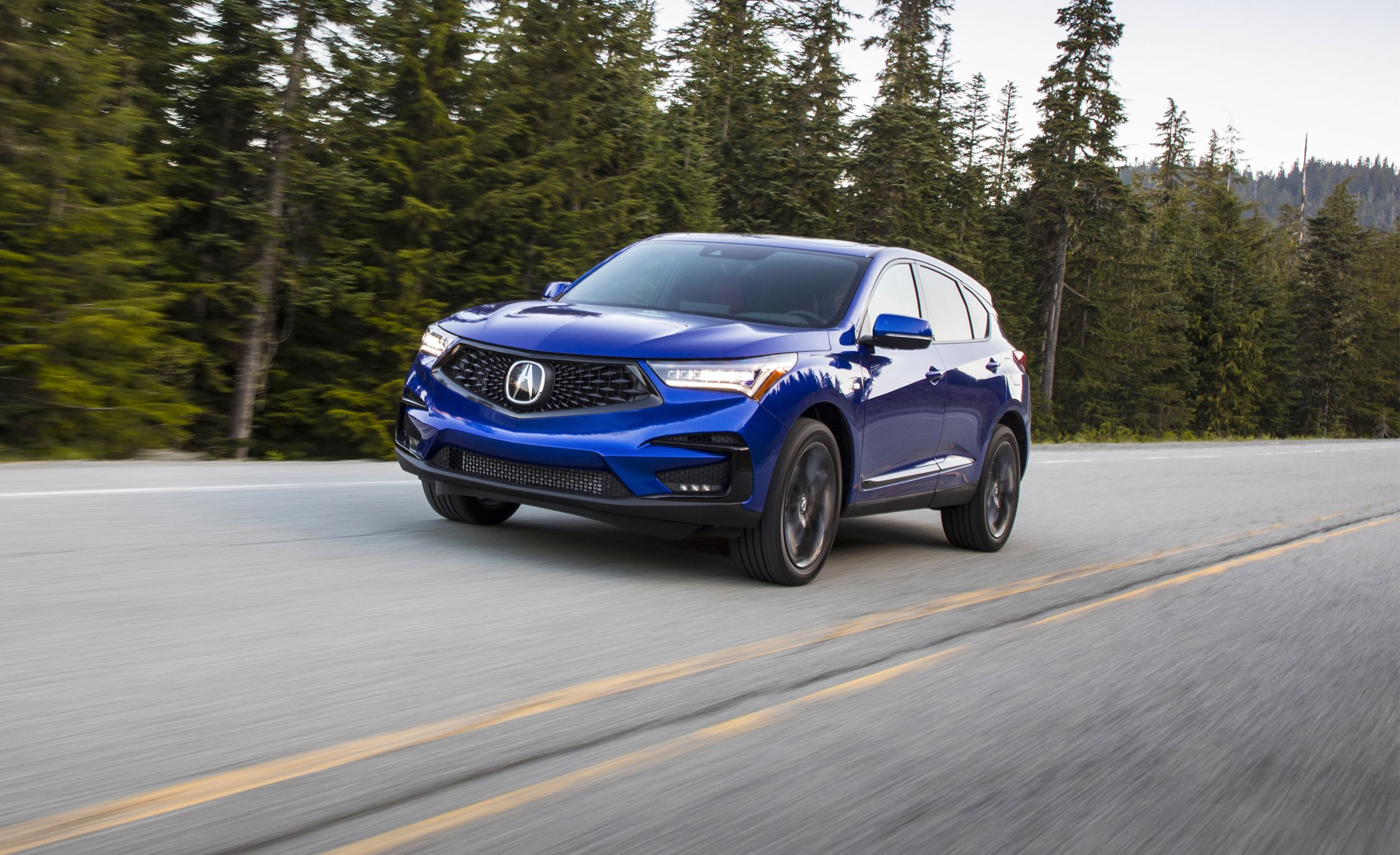 2019 Acura Rdx First Drive Now With An Actual Personality Review Car And Driver