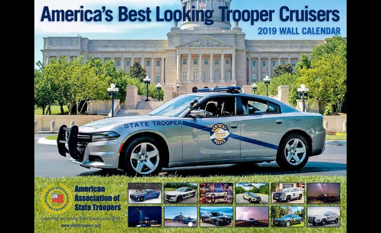 Get Your 2019 American State Trooper Pinup Calendar Now