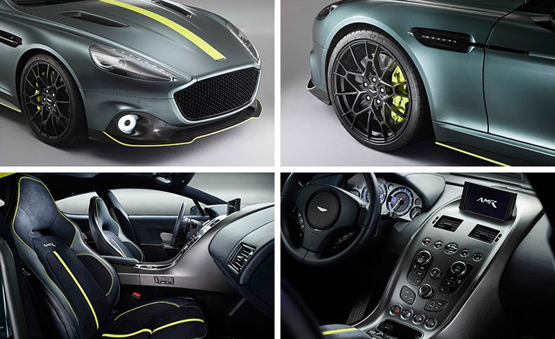 2019 Aston Martin Rapide Amr Gets More Power More Rapidness News