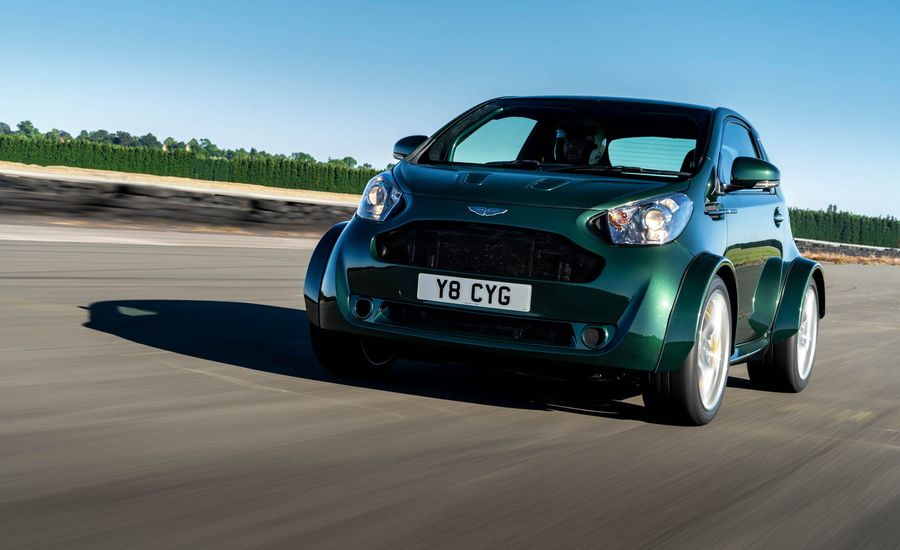 Aston Martin Just Took Its Ill-Fated Cygnet Microcar and Stuffed a V-8 in It