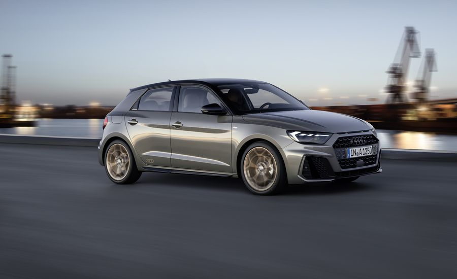 2019 audi a1 is the new face of premium tinyness news car and driver. Black Bedroom Furniture Sets. Home Design Ideas